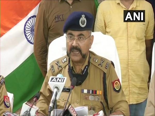 UP ADG Prashant Kumar speaks to media in N