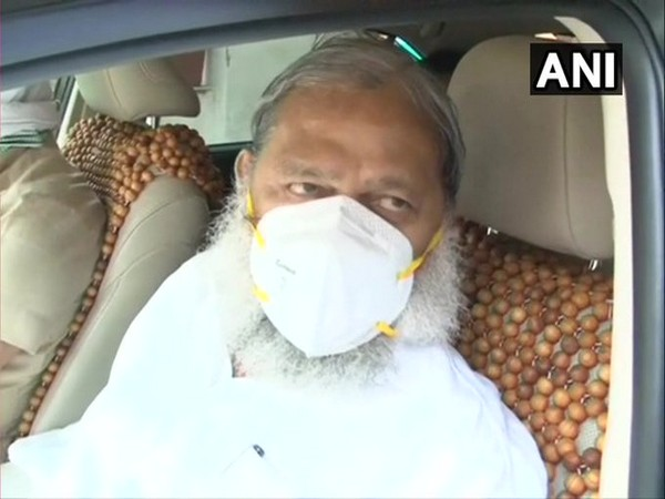 Haryana Health Minister Anil Vij. [File Photo]