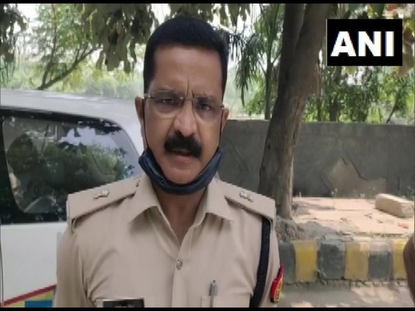 Additional Deputy Commissioner of Police, Noida, Ranvijay Singh speaks to ANI on Friday [Photo/ANI]