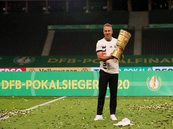 Bayern Munich manager Hansi Flick. (Photo/ Bayern Munich Twitter)