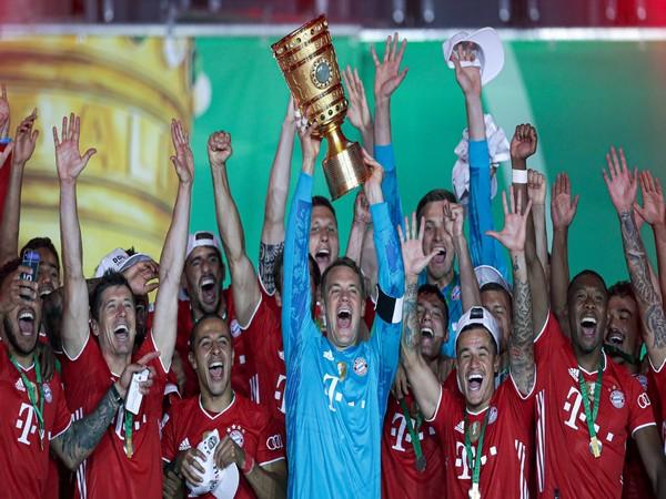 Bayern Munich defeated Bayer Leverkusen 4-2 in the final here on Saturday. (Photo/ Bayern Munich Twitter)