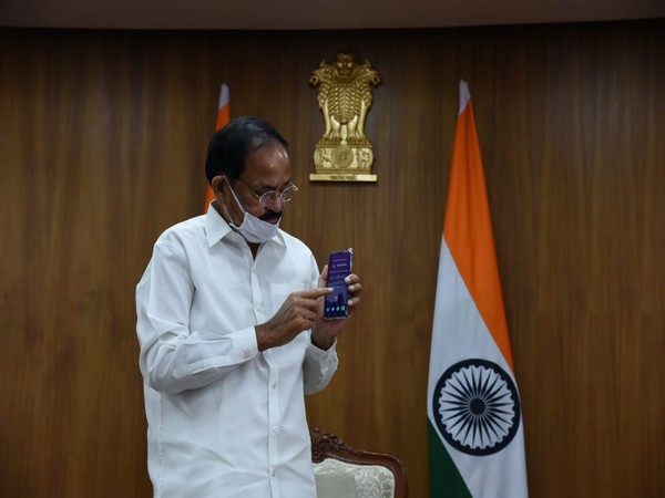 Vice President M Venkaiah Naidu virtually launched an indigenously developed social media super app- Elyments.