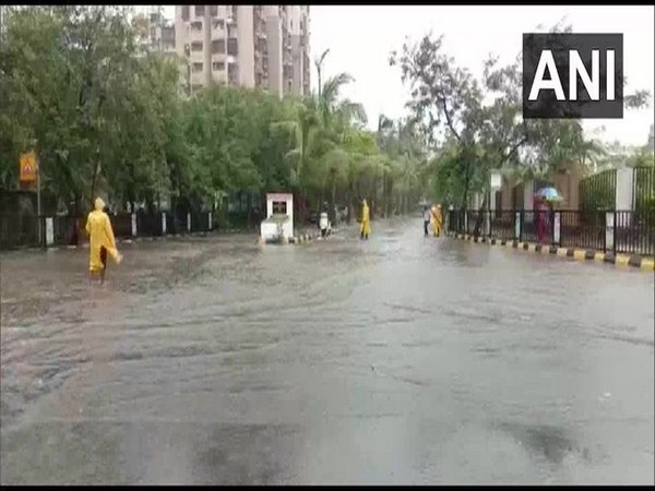 Visual from Navi Mumbai, Maharashtra (Photo/ANI)