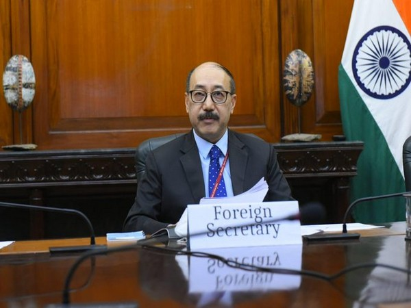 Foreign Secretary Harsh Vardhan Shringla