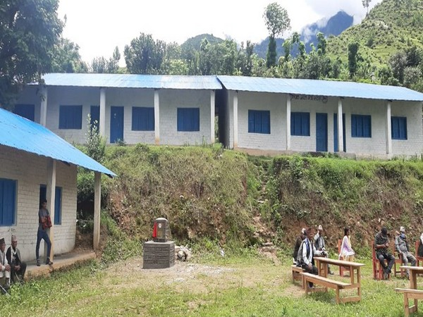 The block was built under the Nepal-Bharat Maitri Development Cooperation programme at a cost of Nepali Rupees 35.11 million