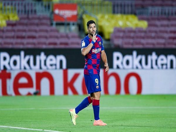 Barcelona's Luis Suarez (Photo/ Barcelona Twitter)
