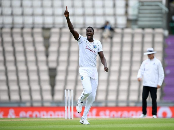 West Indies' Jason Holder (Photo/ ICC Twitter)