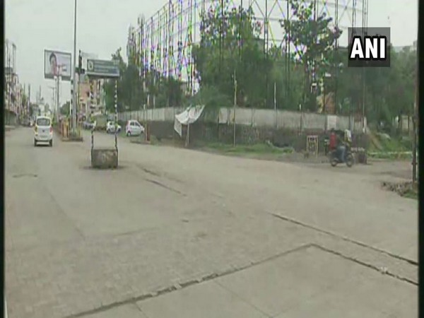 Streets in Aurangabad wore a deserted look on Friday as the city observed a nine-day long 'janata curfew'.