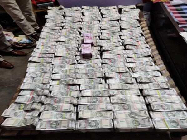 The ED seizes Rs 3.57 crore cash in the searches. Photo/ANI