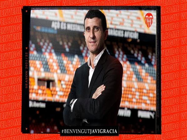 Javi Gracia (Photo/ Valencia Twitter)
