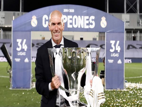 Real Madrid manager Zinedine Zidane. (Photo/ Real Madrid Twitter)