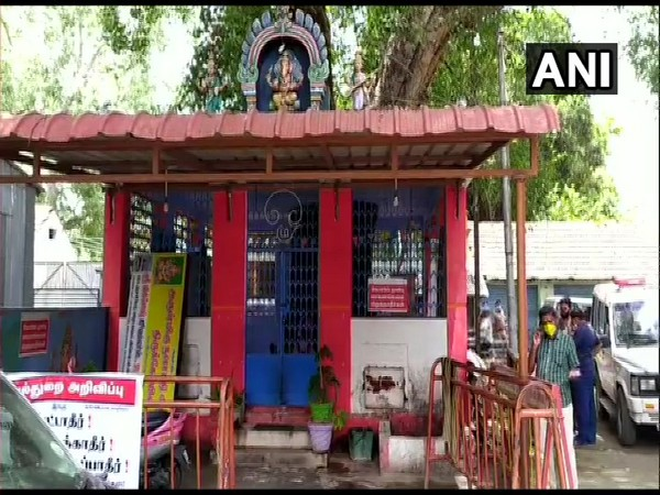 Unidentified miscreants started fires outside temples in Coimbatore