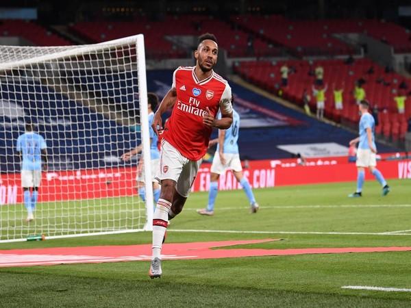 Arsenal's Pierre-Emerick Aubameyang (Photo/Arsenal Twitter)