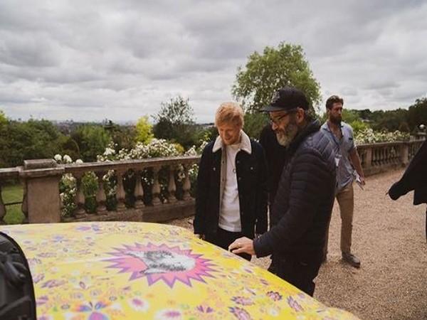 Ed Sheeran (image Courtesy: Instagram)