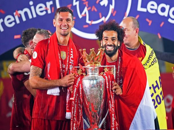 Dejan Lovren with Mohamed Salah. (Photo/ Dejan Lovren Twitter)