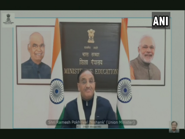 Union Education Minister Dr. Ramesh Pokhriyal Nishank (Photo ANI)