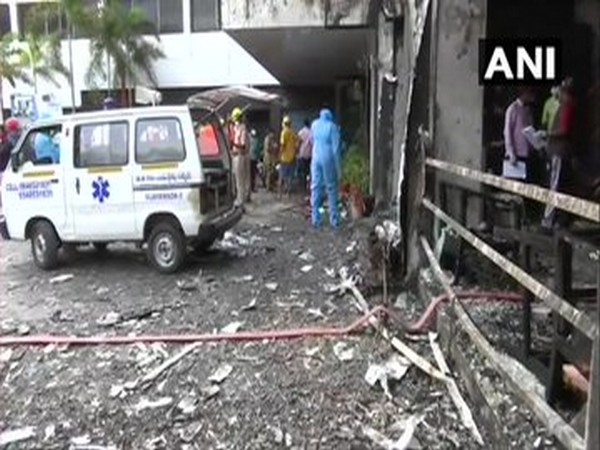 Visual from the mishap site. (Photo/ANI)