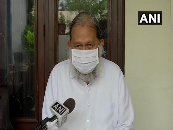 Haryana Home Minister Anil Vij speaking to ANI on Wednesday (Photo/ANI)