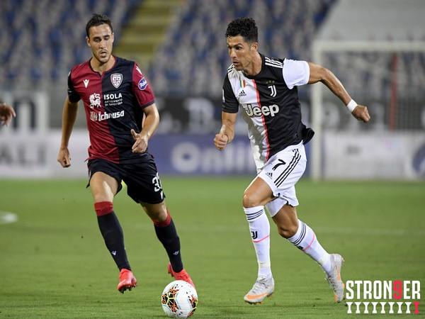Juventus suffer 2-0 defeat against Cagliari here. (Photo/ Juventus Twitter)