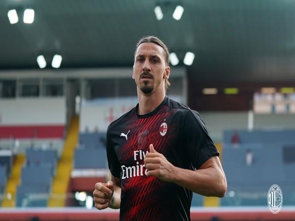 AC Milan's Zlatan Ibrahimovic. (Photo/ AC Milan Twitter)