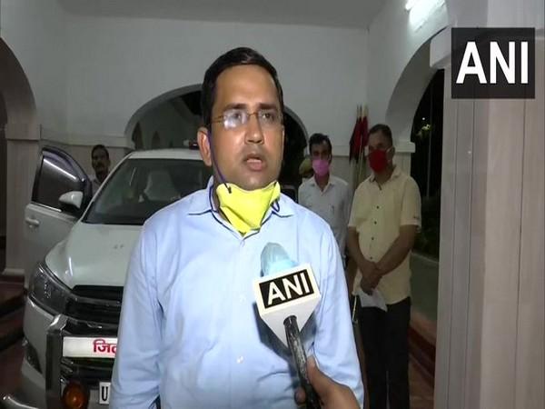 Anuj Kr Jha, Ayodhya District Magistrate (Photo/ANI)