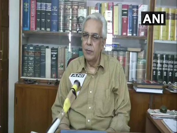 Lalit Kishore, Advocate General, Bihar Government speaking to ANI on Friday. (Photo/ANI)
