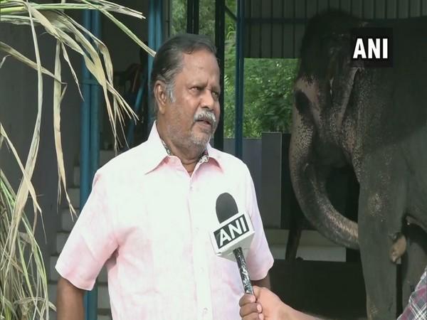Rangan, a fourth-generation elephant caretaker, in conversation with ANI.