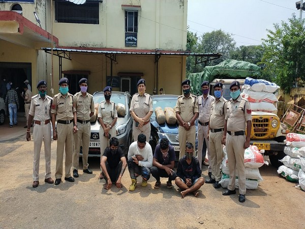 Seven people were arrested at Chhattisgarh on Saturday for possession of cannabis. (Photo/ANI)
