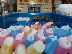 Seized spurious sanitizers (Photo/ANI)