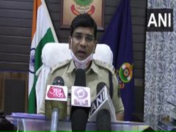 Santosh Kumar Singh, Superintendent of Police, Raigarh (Photo/ANI)