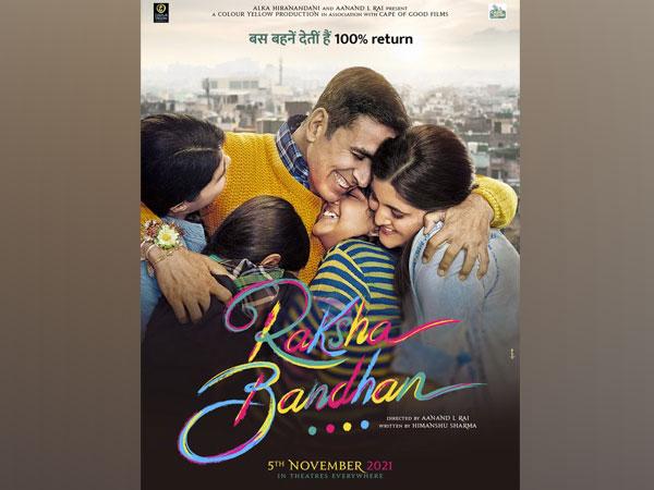 Poster of Akshay Kumar's new film 'Raksha Bandhan' (Image Source: Twitter)