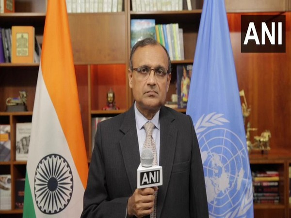TS Tirumurti, India's Permanent Representative to the United Nations. [Photo/ANI]