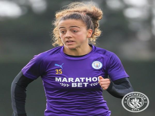 Matilde Fidalgo (Photo/ Manchester City Twitter)