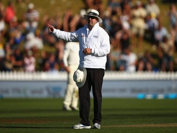 Umpire calling no-ball (Photo/ ICC Media Twitter)