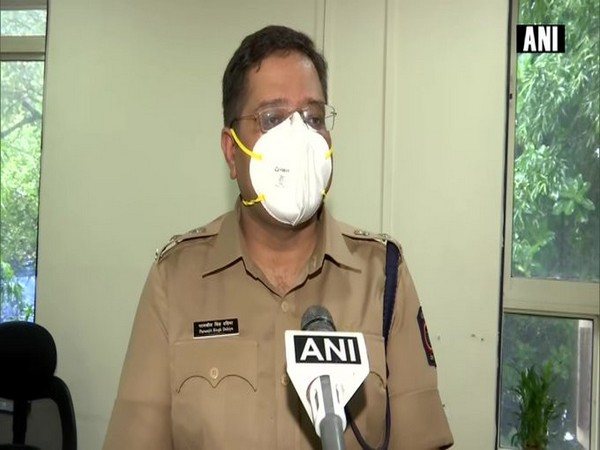 Mumbai DCP Paramjit S Dahiya speaking to ANI on Wednesday. Photo/ANI