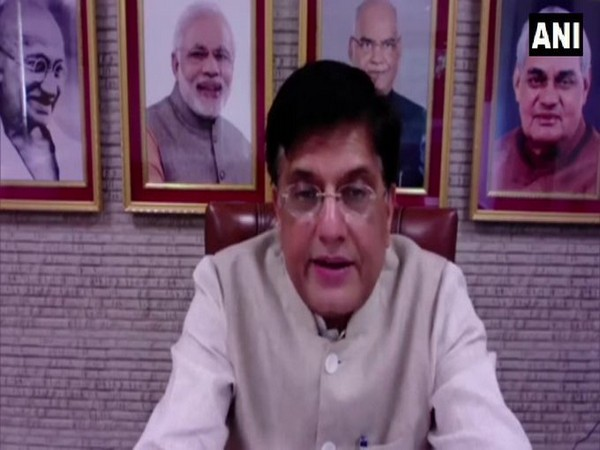 Union Minister of Commerce and Industry, Piyush Goyal (Photo/ANI)