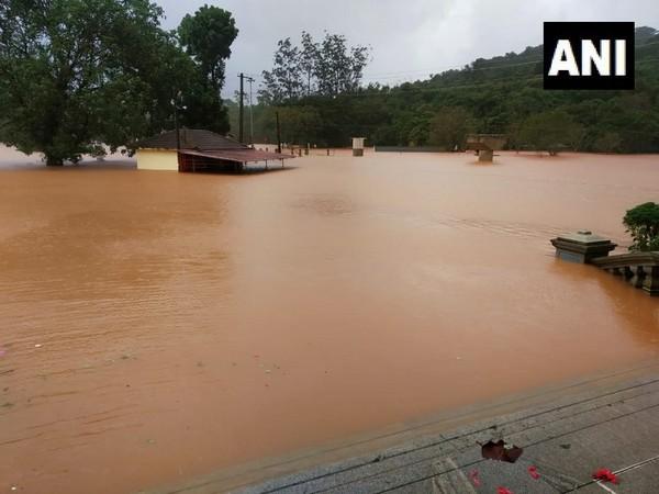 Visuals from Kodagu showed a flood-like situation
