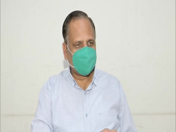 Delhi Health Minister Satyendra Jain in conversation with ANI (File Photo)
