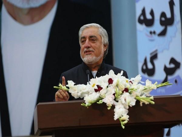 The top Afghan negotiator in peace talks with the Taliban, Abdullah Abdullah.