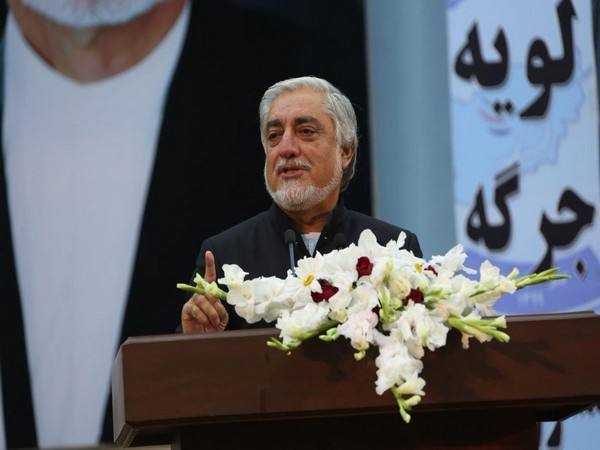 Abdullah Abdullah, chairman of the High Council for National Reconciliation