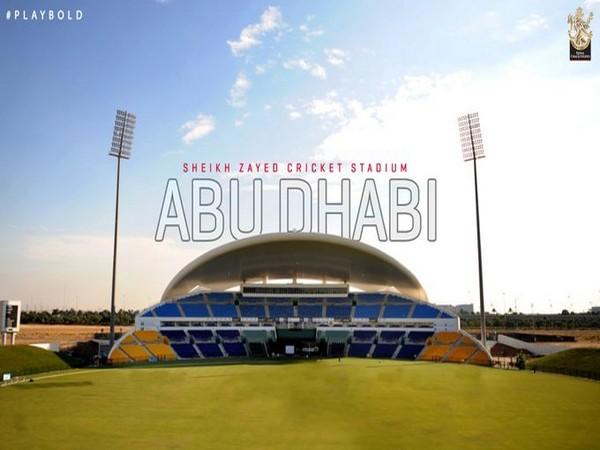 Sheikh Zayed Stadium in Abu Dhabi (Photo/ RCB Twitter)