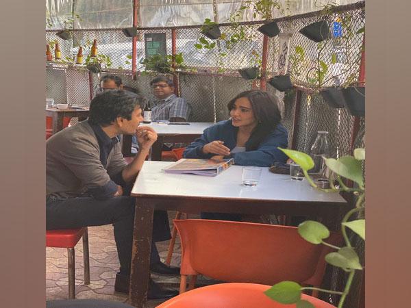 Nawazuddin Siddiqui, Neha Sharma (Image courtesy: Twitter)