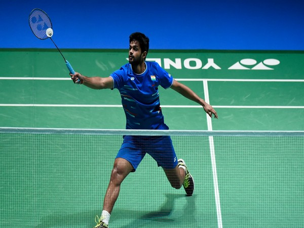 B Sai Praneeth (Photo: Twitter/Team India)