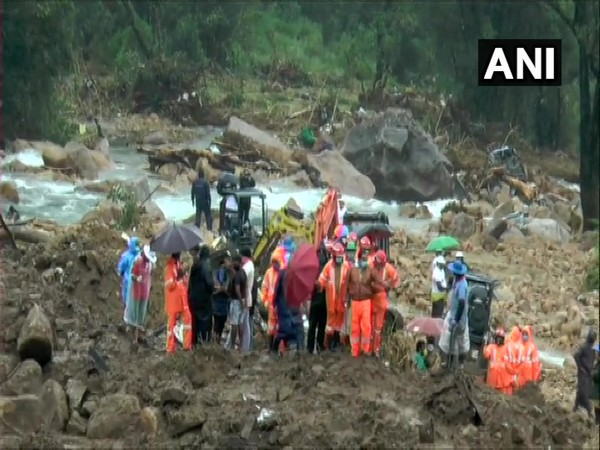 Rescue operation by the National Disaster Response Force on Tuesday. (Photo/ANI)