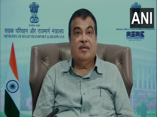 Union Minister of MSME Nitin Gadkari (Photo/ANI)