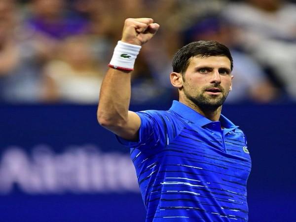 World number one Novak Djokovic (Novak Djokovic Twitter)