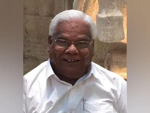 Former Ghaziabad MP and senior Congress leader Surendra Prakash Goyal. (Source: Twitter)