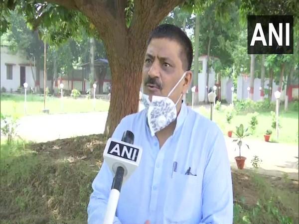 JD(U) Minister Sanjay Jha (File Photo/ANI)