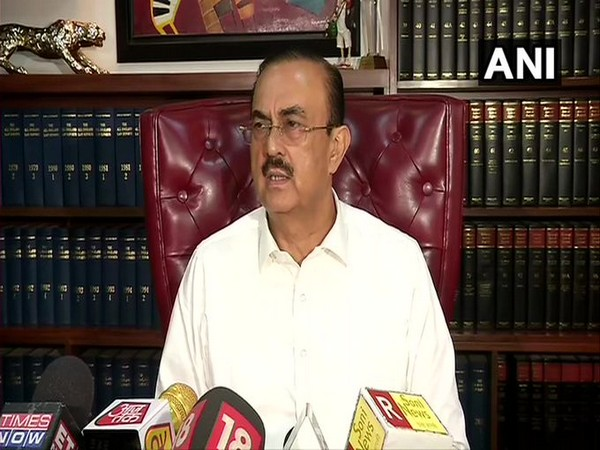 Advocate Vikas Singh, lawyer of Sushant's father, at a press conference on Thursday. [Photo/ANI]