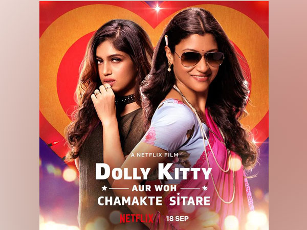 Poster of film 'Dolly Kitty Aur Woh Chamakte Sitaare' (Image Source: Twitter)